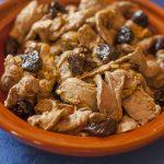 Duck filets and prunes Tajine